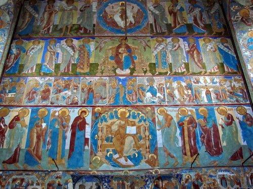 Церковь Иоанна Богослова, росписи