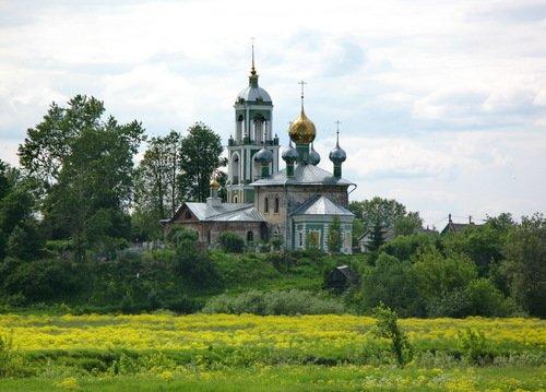 Церковь Сергия Радонежского в Деболовском