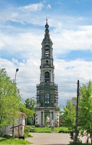 Колокольня церкви Никиты Великомученика в Поречье-Рыбном