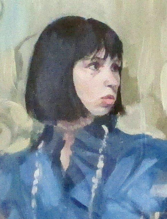 Алина Козенко. Автопортреты.