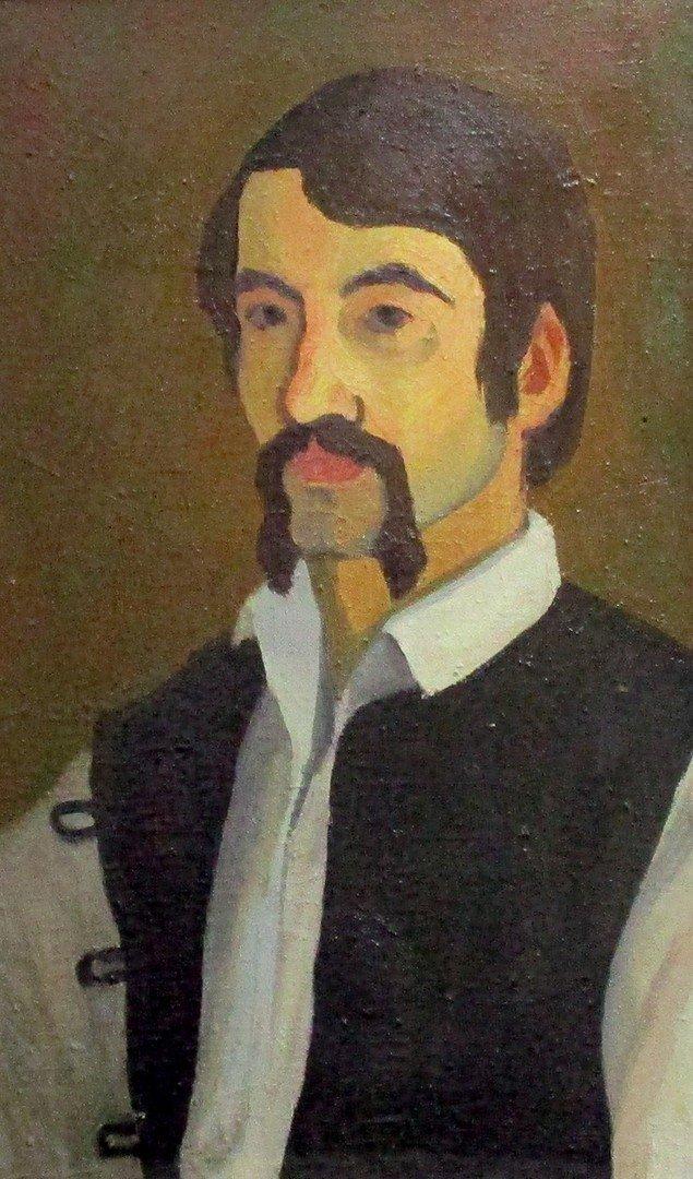 И. П. Вольвич. Автопортреты.