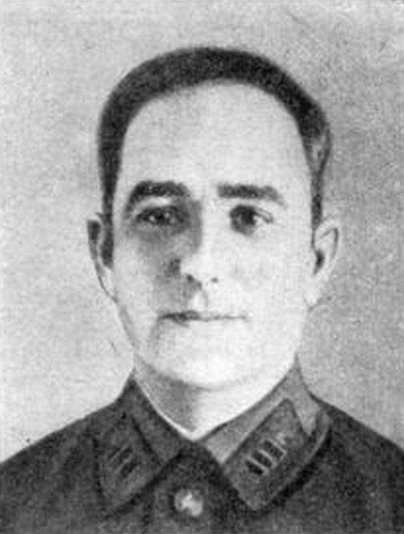 Начальник санитарной службы Приморской армии Давид Соколовский.