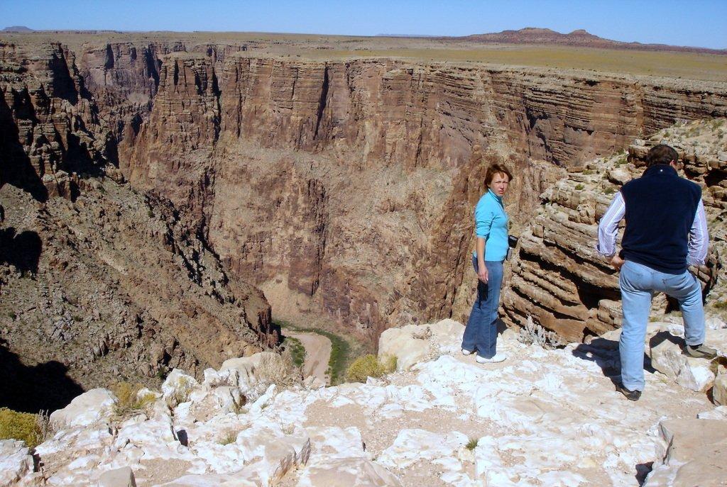 У отрогов Гранд-каньона.