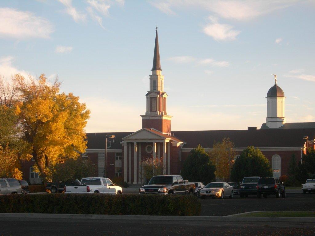 Забытый богом городок Вернал, штат Юта