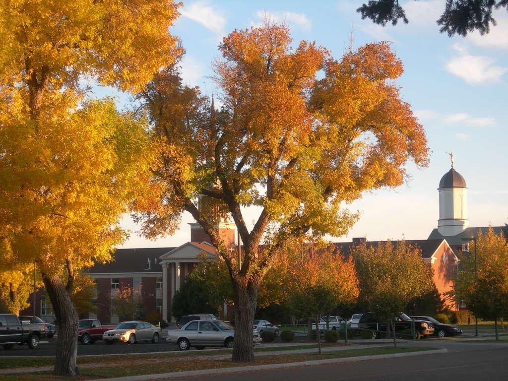 В городке Вернал нас настигла осень...