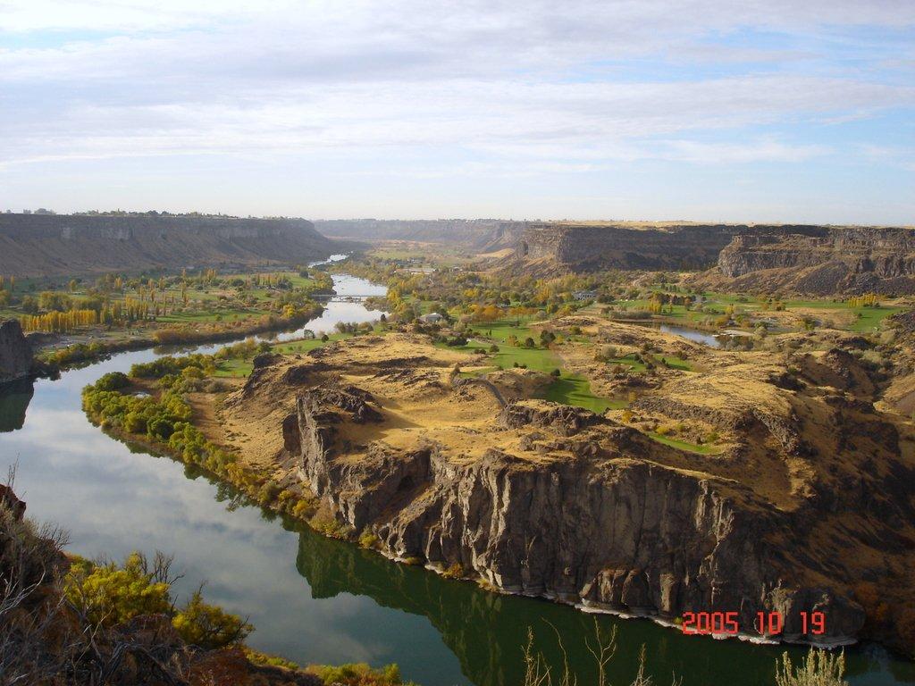 Штат Айдахо. Река Снейк собственной персоной!..