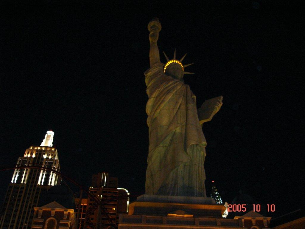 Статуя Свободы в Лас-Вегасе