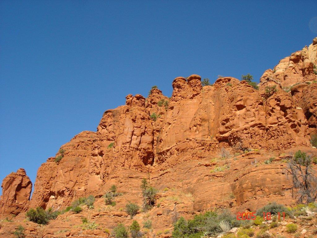 Природные барельефы Аризоны
