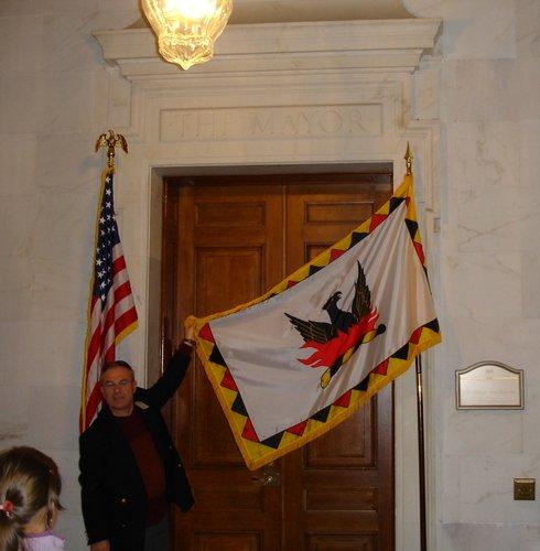 Дверь в кабинет мэра Сан-Франциско
