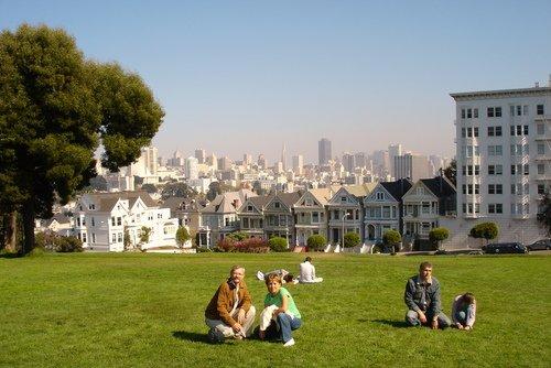 Сан-Франциско. Шесть цветных вдов - домики-музеи.