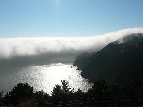 Белая мгла у Сан-Франциско