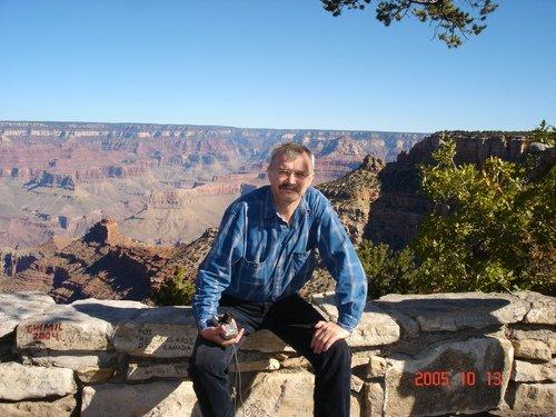 У Гранд-каньона на завалинке...