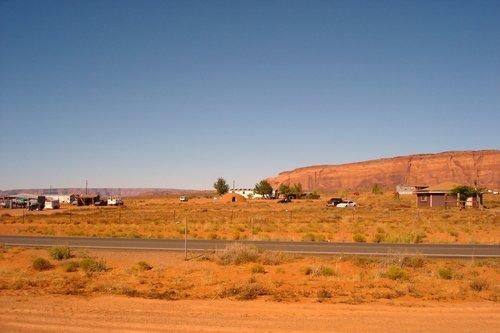Резервация индейцев навахо