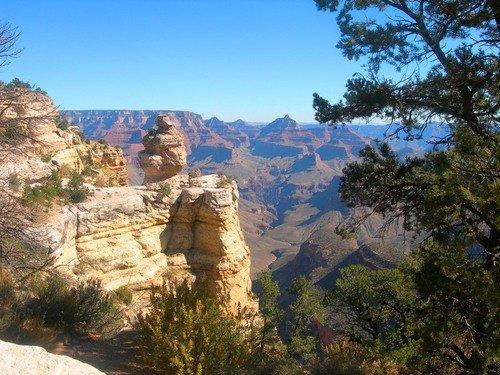 Гранд-каньон. Замок с башенками.
