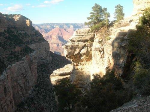 Гранд-каньон. Голова индейского вождя.