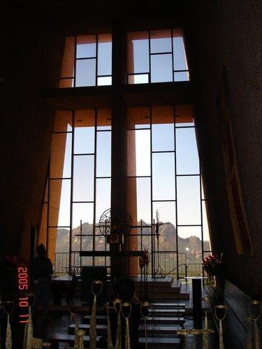 Церковь на скале рядом с Седоной в штате Аризона