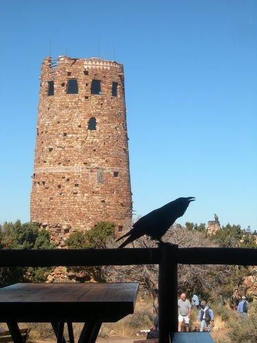 Старая башня в Гранд-каньоне