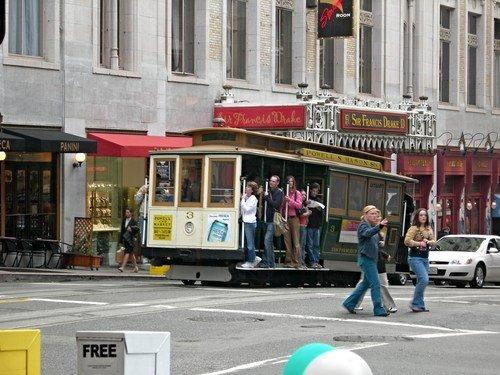Трамвайчик в Сан-Франциско