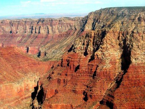Гранд-каньон днём такого цвета