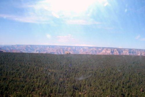 Подлетаем к Гранд-каньону