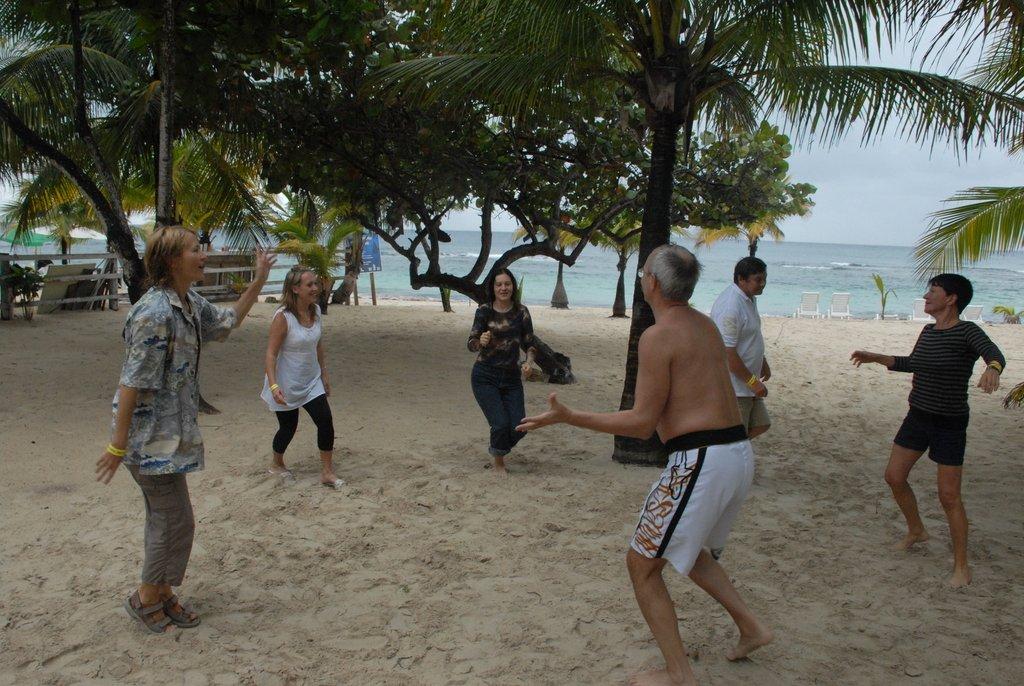 Вот такие движения популярны в Гондурасе!..