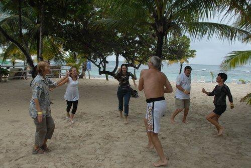 Зимние танцы у тёплого Карибского моря