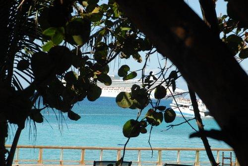Багамы. В спасительной тени.