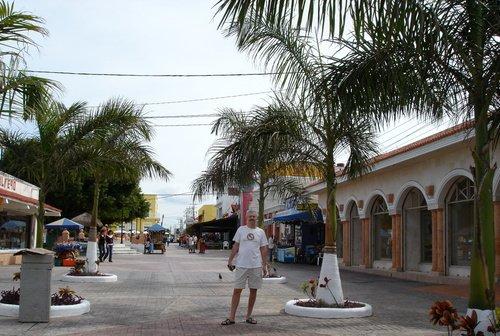 Во глубине мексиканского острова Козумель...