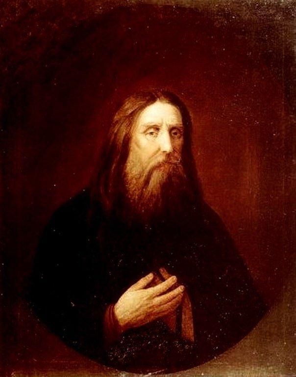Прижизненный портрет Святого Преподобного Серафима Саровского.
