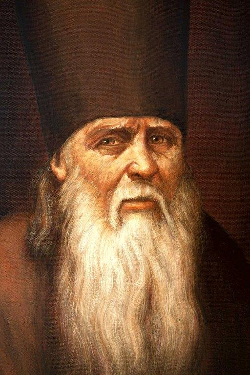 Святой Преподобный Старец Амвросий Оптинский.