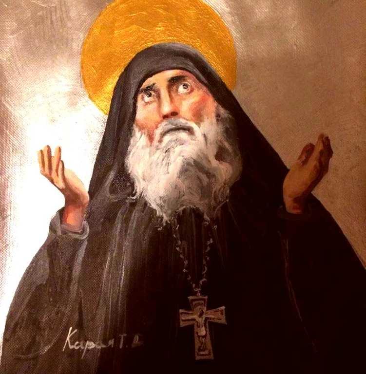 Святой Преподобноисповедник Гавриил (Ургебадзе), Самтаврийский.