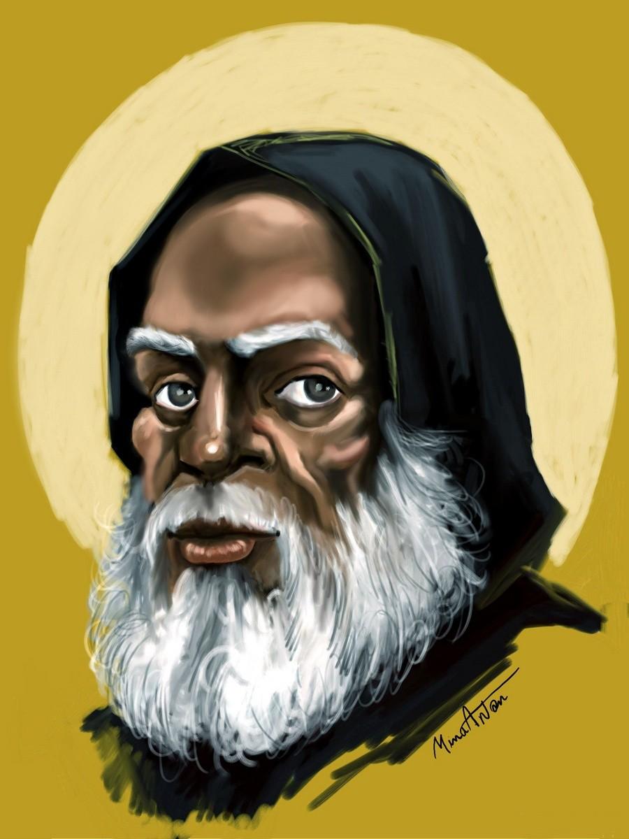 Святой Преподобный Моисей Мурин.