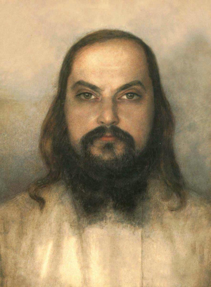 Священномученик иерей Сергий Мечёв. Портрет. 1920 - 1930 годы.