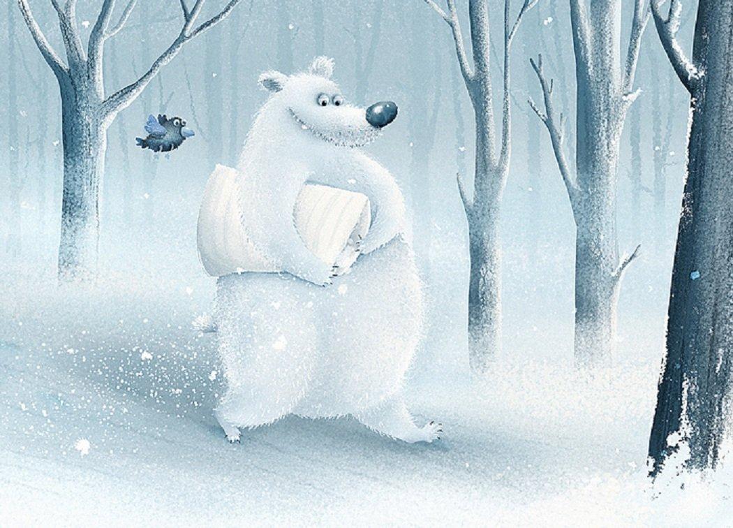 Радость зимой картинки нарисованные