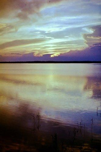 Вечером на озере