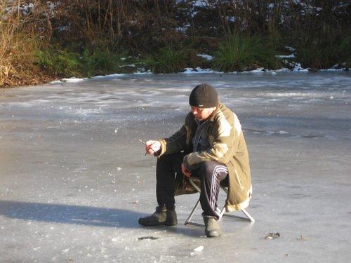 Рыбак-подледник
