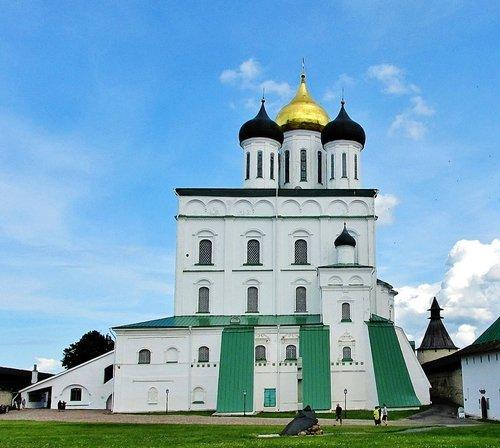 Троицкий собор Псковского Кремля