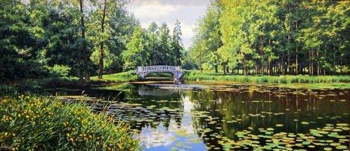 Алексей Владимирович Адамов (род. 6 сентября 1971 года). Пейзаж.