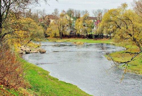 Осенью на Пскове