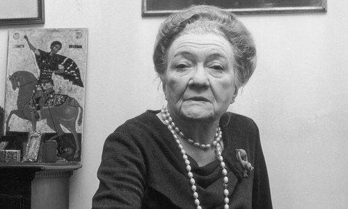 Мария Закревская-Бенкендорф-Будберг.