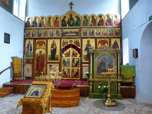 Церковь Сергия Радонежского в Бибирево. Основной иконостас