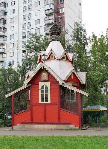Часовня Николая Чудотворца в Бабушкине