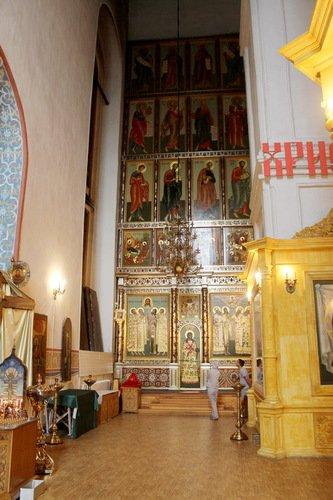 Церковь Покрова Пресвятой Богородицы в Измайлово. Интерьер.