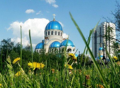 Собор Троицы Живоначальной в Орехово-Борисово