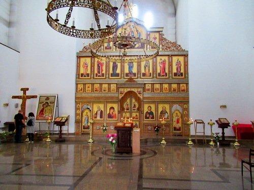 Церковь Алексия Мечева в Вешняках. Интерьер.