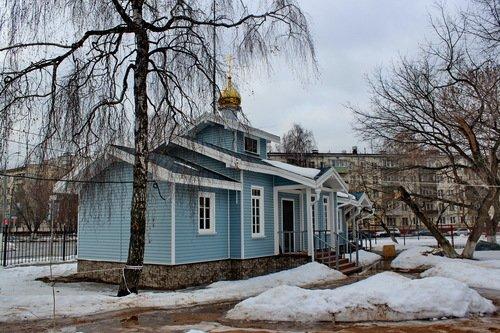 Церковь Иконы Божией Матери Знамение Курская Коренная в Вязовке