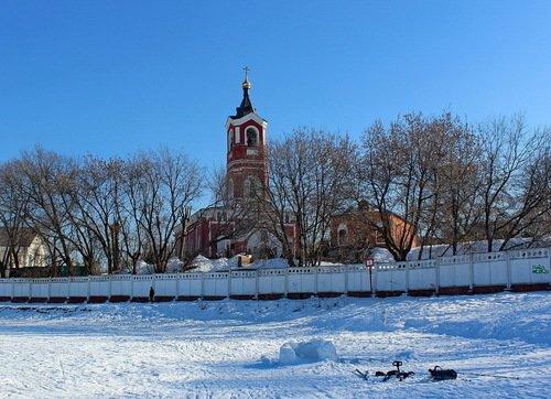 Церковь Троицы Живоначальной в Борисово