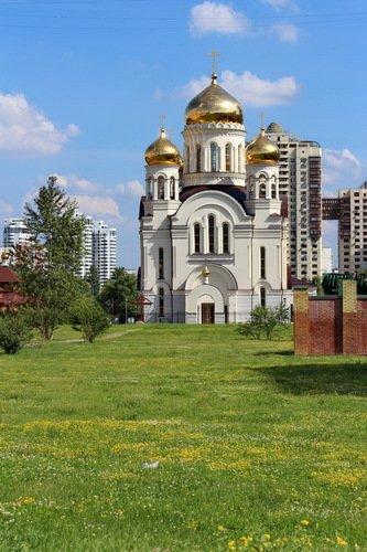 Церковь Всех Святых, в земле Российской просиявших, в Новых Черёмушках