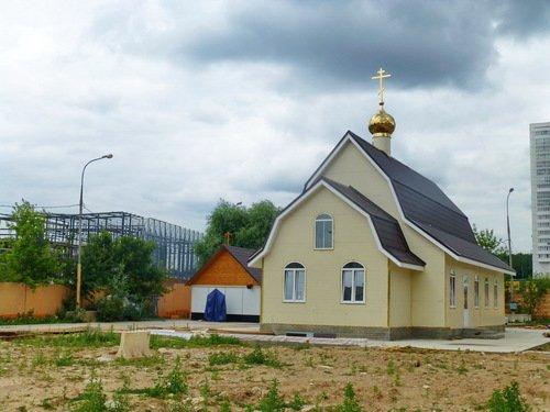 Церковь Николая II в Аннино.
