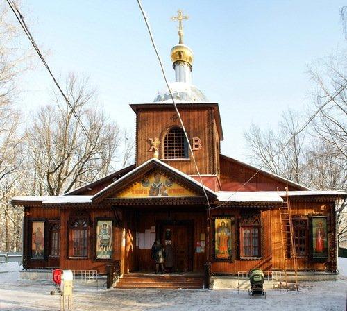 Церковь Николая Чудотворца в Бирюлёво